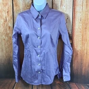 Banana Republic Shirt Non Iron Fitted Button Front